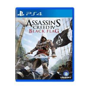Jogo Novo Midia Fisica Assassins Creed 4 Black Flag para Ps4