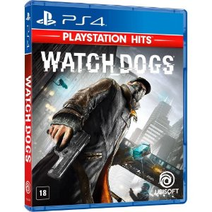 Jogo Novo Midia Fisica Watch Dogs Original Lacrado para Ps4