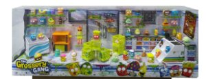 Brinquedo Playset The Grossery Gang Exclusivo Diorama Dtc