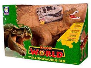 Brinquedo Dino World Tyrannosaurus Rex Cotiplás 2088