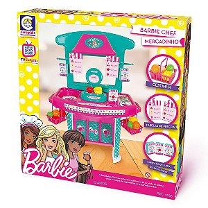 Brinquedo Barbie Chef Mercadinho Cotiplás 2225