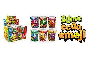 Novo Brinquedo Slime Ecao Emoji 110g Aleatório Dtc 5057