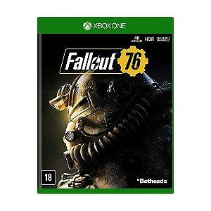 Jogo Novo Mídia Física Fallout 76 Bethesda Para Xbox One
