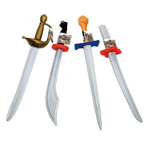 Brinquedo Espada Guerreiros Unitario Sortido Rosita 9115