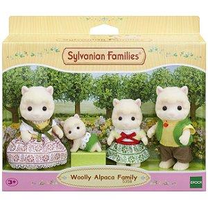 Novo Sylvanian Families Familia Das Alpacas Epoch 5358
