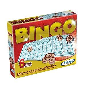 Novo Jogo Bingo Xalingo Pedras De Madeira 5290-2
