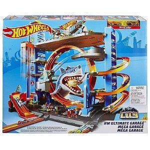 Brinquedo Hot Wheels Ultimate Mega Garage Da Mattel Ftb69
