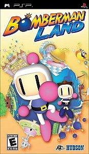 Jogo Mídia Física Bomberman Land Original Para Psp