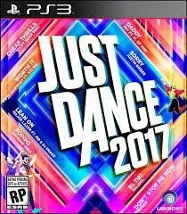 Jogo Midia Fisica Just Dance 2017 Playstation Ps3 Ubisoft