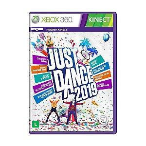 Jogo Novo Mídia Física Just Dance 2019 Para Xbox 360