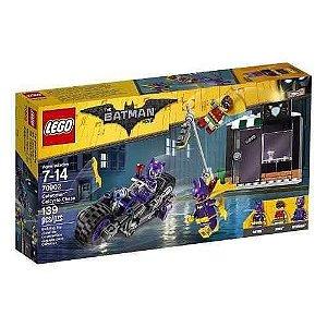 Brinquedo LEGO Batman Motocicleta Mulher Gato Batman 70902