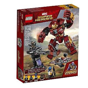 Brinquedo Montar Lego Ataque Destruidor Do Hulkbuster 76104