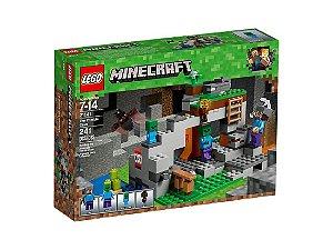 Brinquedo Lego Minecraft 241 Peças 21141