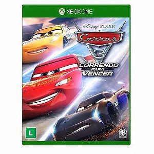 Jogo Mídia Física Carros 3 Correndo Para Vencer Xbox One