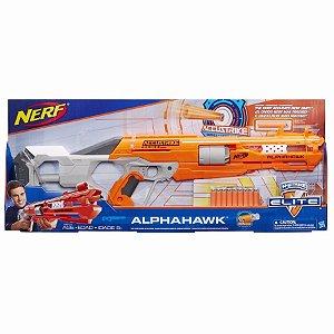 Lançador Nerf N Strike Elite Alphahawk Hasbro B8731