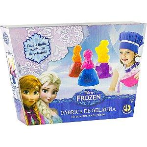 Kit de Escultura Fabrica de Gelatina Frozen Disney Dtc 3627