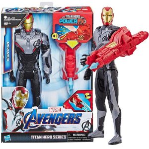 Boneco Homem De Ferro 30Cm Titan Hero Power Fx Hasbro E3307