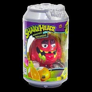 Brinquedo Monstro Na Lata Com Som Shakeheadz Original Dtc
