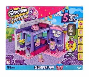 Blocos de Montar Shopkins Kinstruction Slumber Fun Dtc 4127