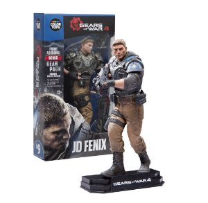 Nova Action Figure Gears of War JD Fenix Color Tops Series 9