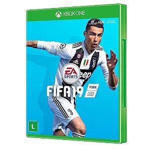 Jogo Novo Mídia Física FIFA 19 Ea Sports Para Xbox One