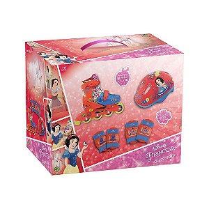 Novo Patins Kit Esportivo Princesas Disney 29-32 Dtc 4252