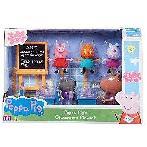 Novo Brinquedo Peppa Pig Sala de Aula Dtc 4208
