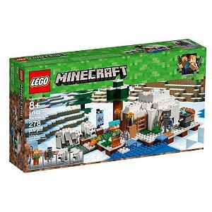Brinquedo Bloco De Montar Lego Minecraft O Iglu Polar 21142