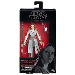 Novo Boneco Star Wars The Black Series Rey Jedi B3834