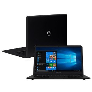 Notebook Positivo Motion Black Q232A Tela 14,1 W10 32Gb Emmc