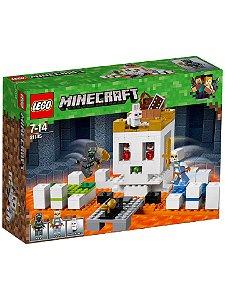 Brinquedo Lego Minecraft Arena da Caveira 195 Peças 21145