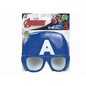 Novo Brinquedo Super Oculos Marvel Capitao America Dtc 4401