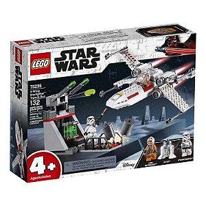 Novo Lego Star Wars X-Wing Starfighter 132 Peças 75235