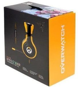 Fone De Ouvido Headset Razer Man O'war Overwatch Tournament