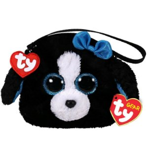 Bolsa Porta Treco de Pelucia Ty Gear Cachorrinha Tracey 4568