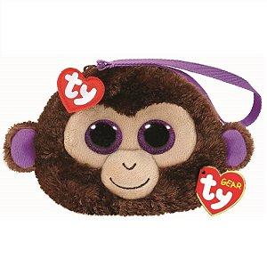Bolsa Porta Treco de Pelucia Ty Gear Macaco Coconut 4570