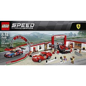 Lego Speed Champions Garagem Ultimate Ferrari 841 Pçs 75889