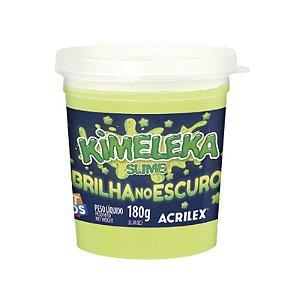 Brinquedo Kimeleka Slime Brilha no Escuro 180g Acrilex 05895