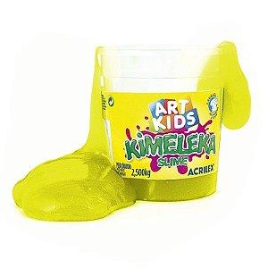 Brinquedo Kimeleka Slime Balde 2,5 Kg Amarelo Acrilex 05845