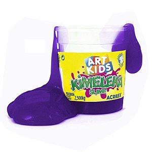 Brinquedo Kimeleka Slime Balde 2,5 Kg Violeta Acrilex 05845