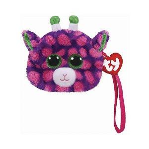 Bolsa Porta Treco de Pelucia Ty Fashion Girafa Gilbert 4928