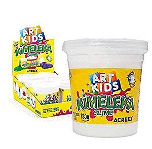 Brinquedo Kimeleka Slime Transparente 180g Acrilex 05820
