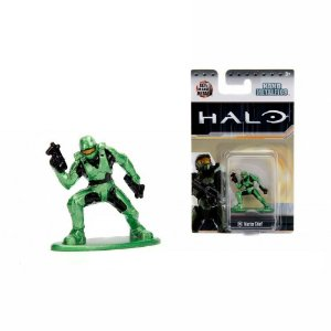 Boneco Colecionável Nano Metalfigs Halo Master Chief Ms1 Dtc
