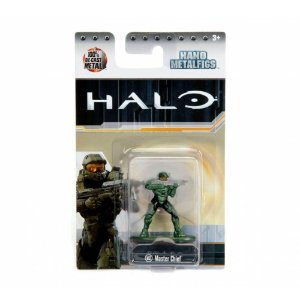 Boneco Colecionável Nano Metalfigs Halo Ms2 Master Chief Dtc