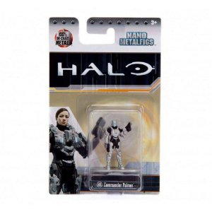 Boneco Commander Palmer Ms4 Nano Metalfigs Halo Dtc