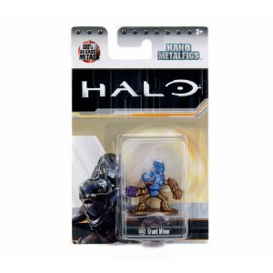 Boneco Colecionável Grunt Minior Ms11 Nano Metalfigs Halo