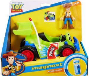 Novo Toy Story Legacy Veiculo Woody e Rc Imaginext Gfr97