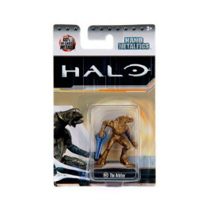 Boneco Colecionável The Arbiter Ms12 Nano Metalfigs Halo