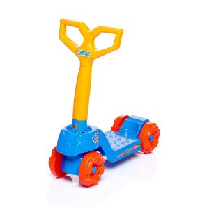 Brinquedo Patinete Infantil Mini Scooty Azul Calesita 0916