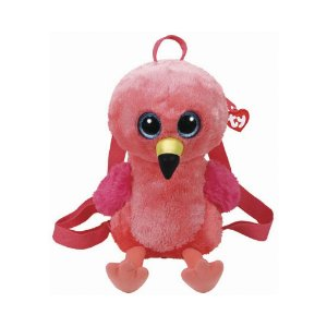 Bolsa de Pelucia Mochila Ty Fashion Flamingo Gilda 4926